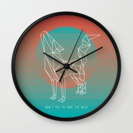 Don't try to tame the wild Wall Clock