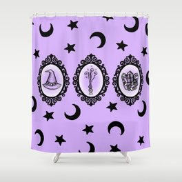 Witch Essentials Shower Curtain