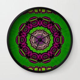 Mandala decorative and meditative Wall Clock