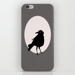 Crow Love iPhone Skin