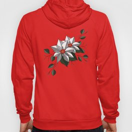 Holiday Flowers Hoody