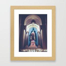 St Theresa Framed Art Print
