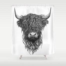 Highland Cow Duschvorhang