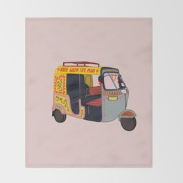 Ride with the Mob Throw Blanket