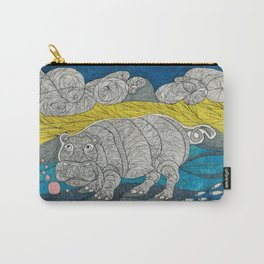 Hippo Lippo Carry-All Pouch