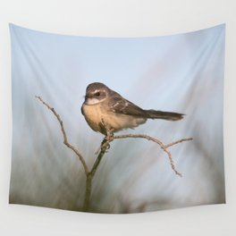 Bird in the morning light Wall Tapestry