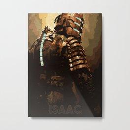 Isaac Metal Print