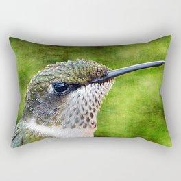 Little Hummer Rectangular Pillow