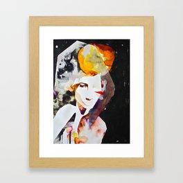 Ambre Framed Art Print