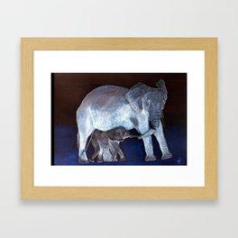 Moonlight Moods collection 'A Proud Mum' Framed Art Print