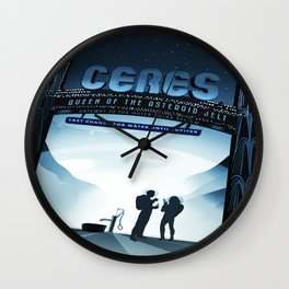 Vintage poster - Ceres Wall Clock