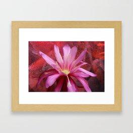 Cacto-luminescence Framed Art Print