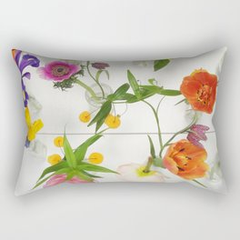 Spring Flowers - JUSTART (c) Rectangular Pillow