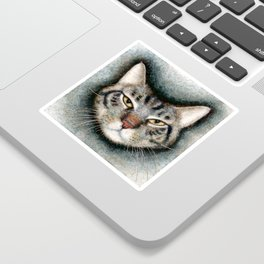 Cat #1 (Xavier) Sticker