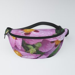 Purple flowers 4 Fanny Pack