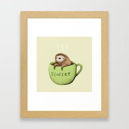 Sloffee Framed Art Print