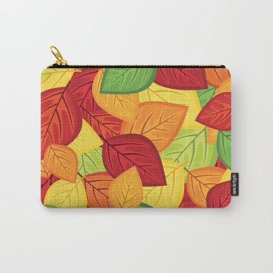 Autumn leaves #8 Carry-All Pouch