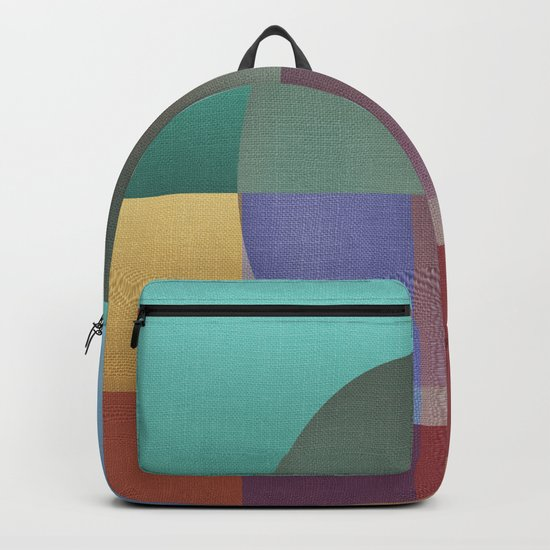 NO WAY OUT (abstract) Backpack