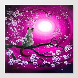MOONLIGHT-PINK Canvas Print