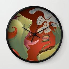 IVY's KISS Wall Clock
