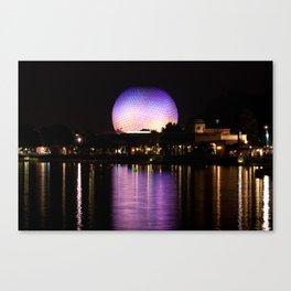 Epcot Theme Park, Florida Canvas Print