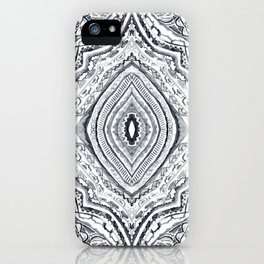Black & White Diamond iPhone Case