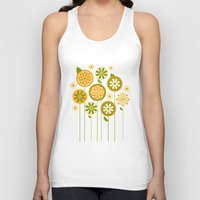 sunshine Tank Tops featuring Sunshine by Shelly Bremmer