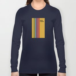Retro Movie Camera Color Palette Long Sleeve T-shirt