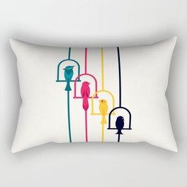 Chime in CMYK Rectangular Pillow