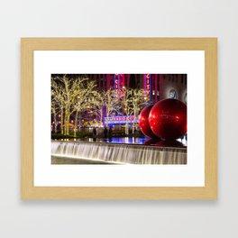 Radio City Framed Art Print