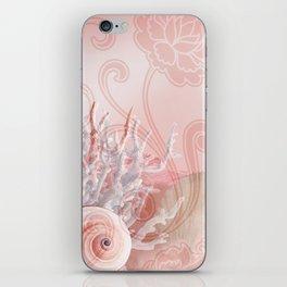 SEASHELL DREAMS | pink iPhone Skin