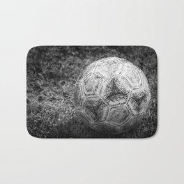 Soccer ball Bath Mat