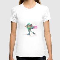mega man T-shirts featuring Mega Man Tribute by MrMaars