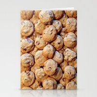 cookies Stationery Cards featuring Cookies by Rachel Bernz