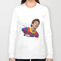messi Long Sleeve T-shirts featuring Messi  by Abhikreationz