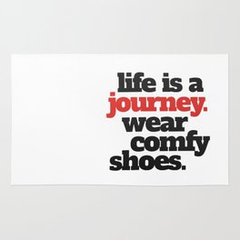 Funny Life is a Journey ... Rug
