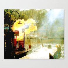 hazard 1 Canvas Print