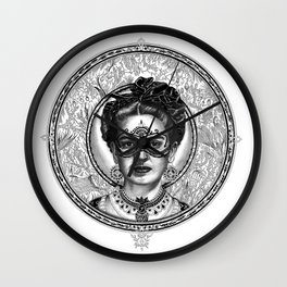 FRIDA SAVAGGE. Wall Clock
