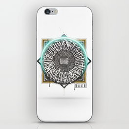 Calligraphy Mantra iPhone Skin