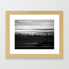 Vague Memories of New York [Black & White] Framed Art Print