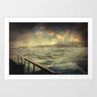 istanbul Art Prints featuring Istanbul by Taylan Soyturk