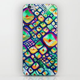 Pineapple Punch – Fruit – Pattern – Painting – Colorful - Bold iPhone Skin