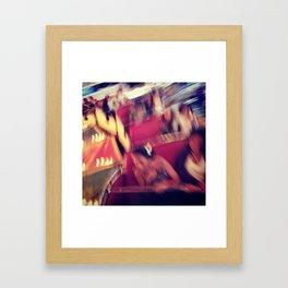 m. express Framed Art Print