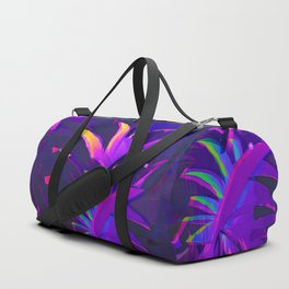Tropical Sounds under Moon Light Duffle Bag