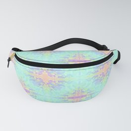 Rainbow Triangles Pattern Fanny Pack