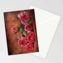 Carnation flowers Stationery Cards