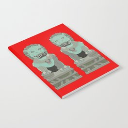 Lion Statues Notebook