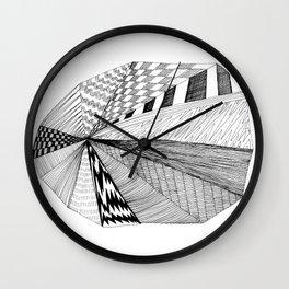 Pie Chart Wall Clock