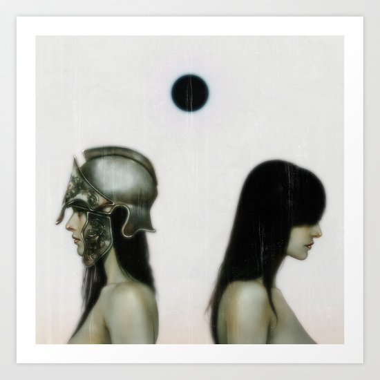 """From The Black Sun"" Art Print"