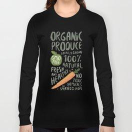 Organic Produce Long Sleeve T-shirt